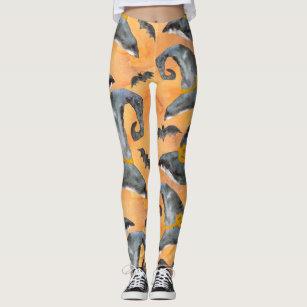 3b0cda82854b8 Women's Halloween Witch Leggings | Zazzle