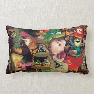 Halloween Witches Kitchen Pillow