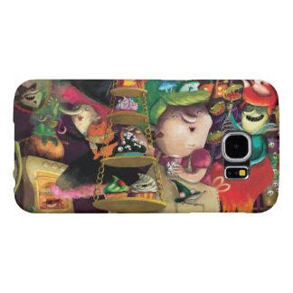 Halloween Witches Kitchen Samsung Galaxy S6 Case