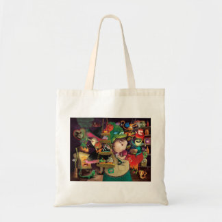 Halloween Witches Kitchen Tote Bag