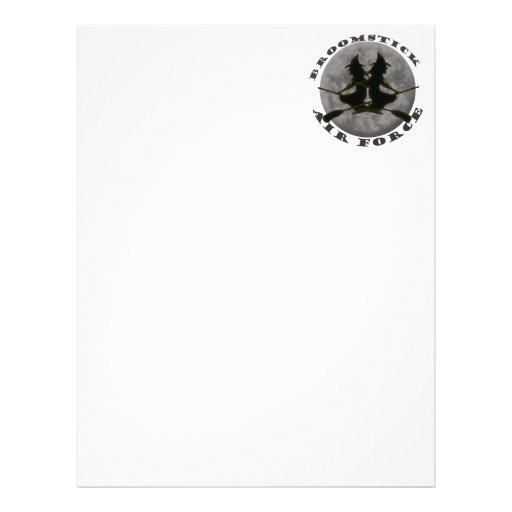 Halloween Witches Letterhead
