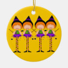 Halloween Witches ornament