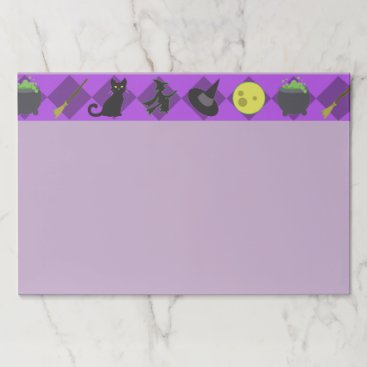 Halloween Themed Halloween Witches Paper Pad