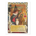 Halloween Witches Post Cards