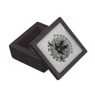 Halloween Witches Premium Square Gift Box Premium Jewelry Box