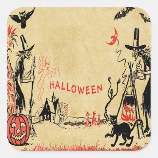 Halloween Witches Sticker