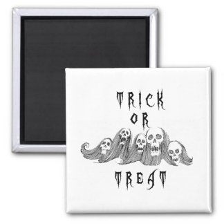 Halloween Witches Trick or Treat Magnet