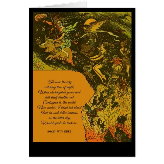 Halloween Witching Time Card