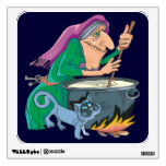 Halloween Witch's Brew Wall Decals