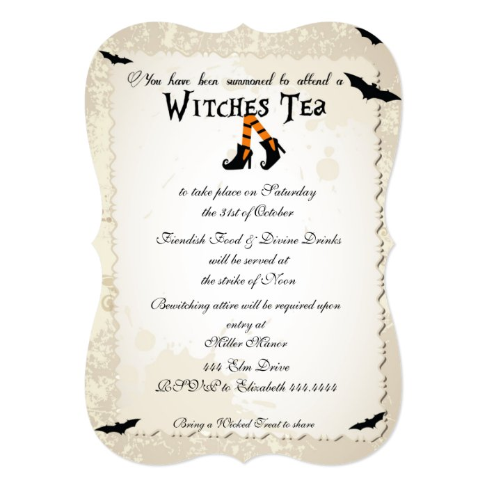 Unique Halloween Party Invitations with perfect invitation layout
