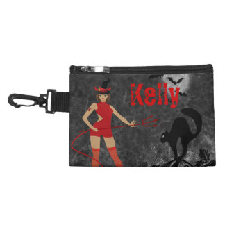 Halloween Witchy Devil Girl Accessories Bag