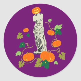 Halloween with Venus Sticker