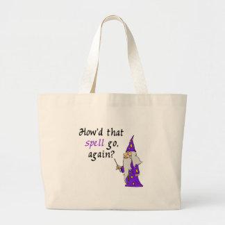 Halloween Wizard Tote Bag