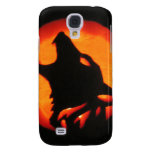 Halloween Wolf Howling Samsung Galaxy S4 Cover