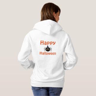 Halloween Women's Hooded Sweatshirt/Spider Hoodie