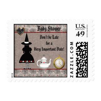 Halloween Wonderland Baby Shower Stamps