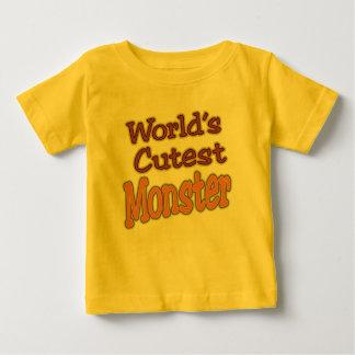 Halloween World's Cutest Monster Baby T-Shirt