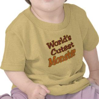 Halloween World's Cutest Monster Tshirt