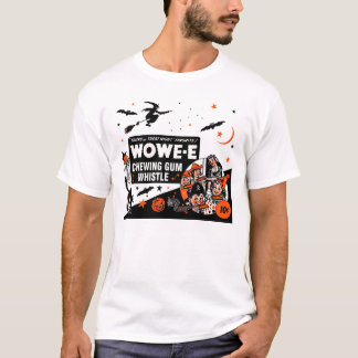 Halloween Wowe-e Whistle T-Shirt