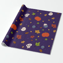 Halloween Wrapping Paper Cute Little Spooks