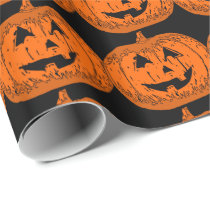 halloween wrapping paper,halloween gift wrap