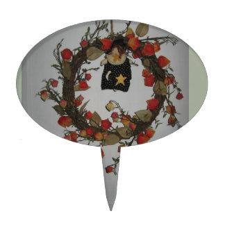 Halloween Wreathe Cake Topper