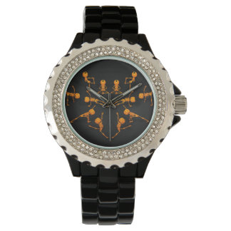 Halloween Yoga Class Wristwatch