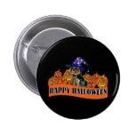 Halloween Yorkie Poo 2 Inch Round Button