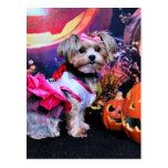 Halloween - Yorkie - Zoey Postal