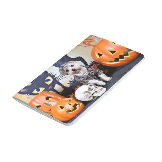 Halloween - YorkiePoo - Bentley Cuadernos