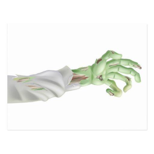 Halloween Zombie Arm Post Cards