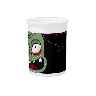 Halloween zombie beverage pitchers