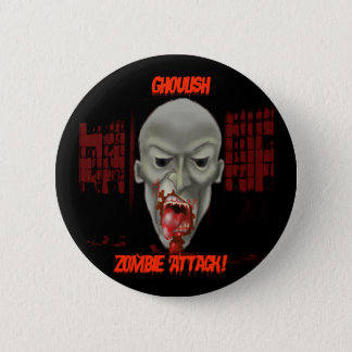 Halloween Zombie Button! Button