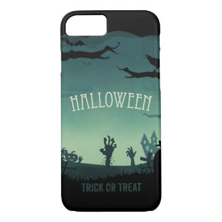 Halloween zombie land iPhone 7 case