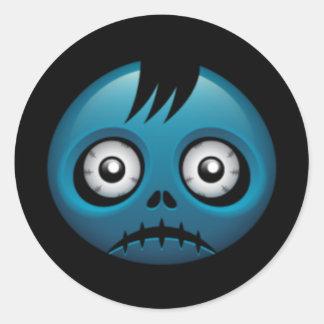 Halloween Zombie Stickers
