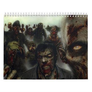 Halloween Zombies Calendar