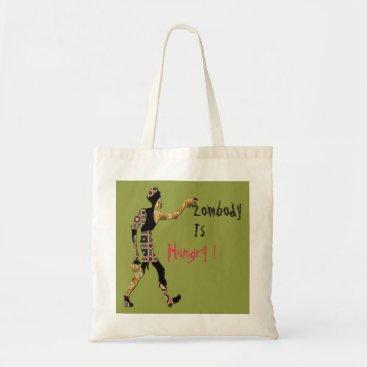 Halloween Themed Halloween - Zombody Is Hungry Tote Bag