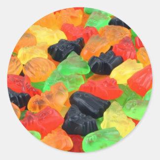 halloweencandy classic round sticker