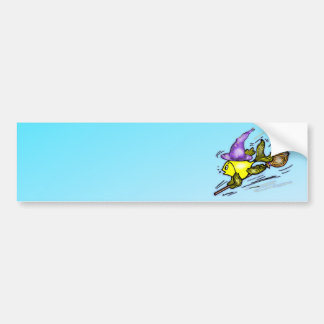 HalloweenFish - Sparky Happy drawing Bumper Sticker