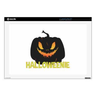 "Halloweenie 17"" Laptop Skin"
