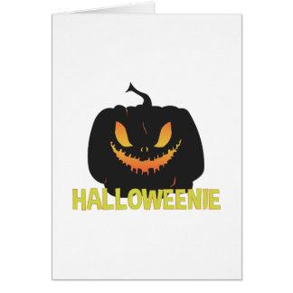 Halloweenie Card