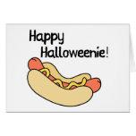 ¡Halloweenie feliz! Felicitacion