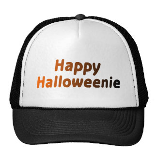 Halloweenie feliz gorros bordados
