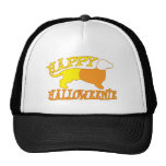 Halloweenie feliz gorras de camionero