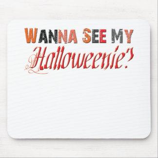 halloweenie Funny Halloween Mouse Pad