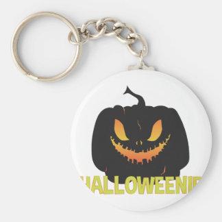 Halloweenie Keychain