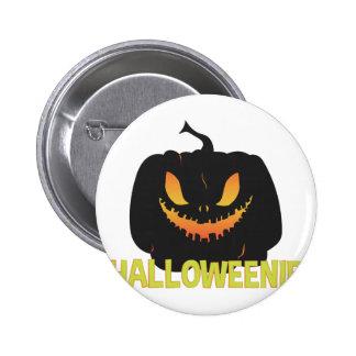 Halloweenie Pinback Button