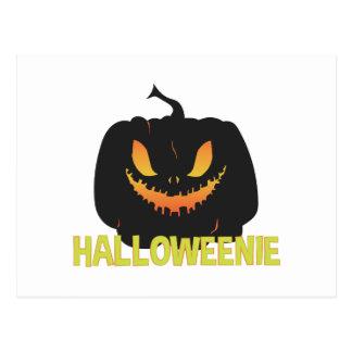 Halloweenie Postcard