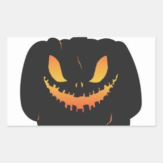 Halloweenie Rectangular Sticker