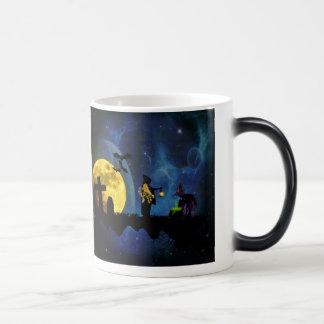 Halloweenies Magic Mug